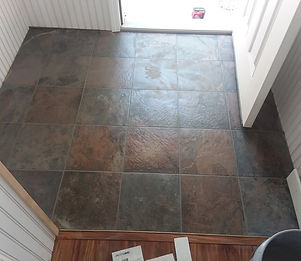 installation of indoor tile