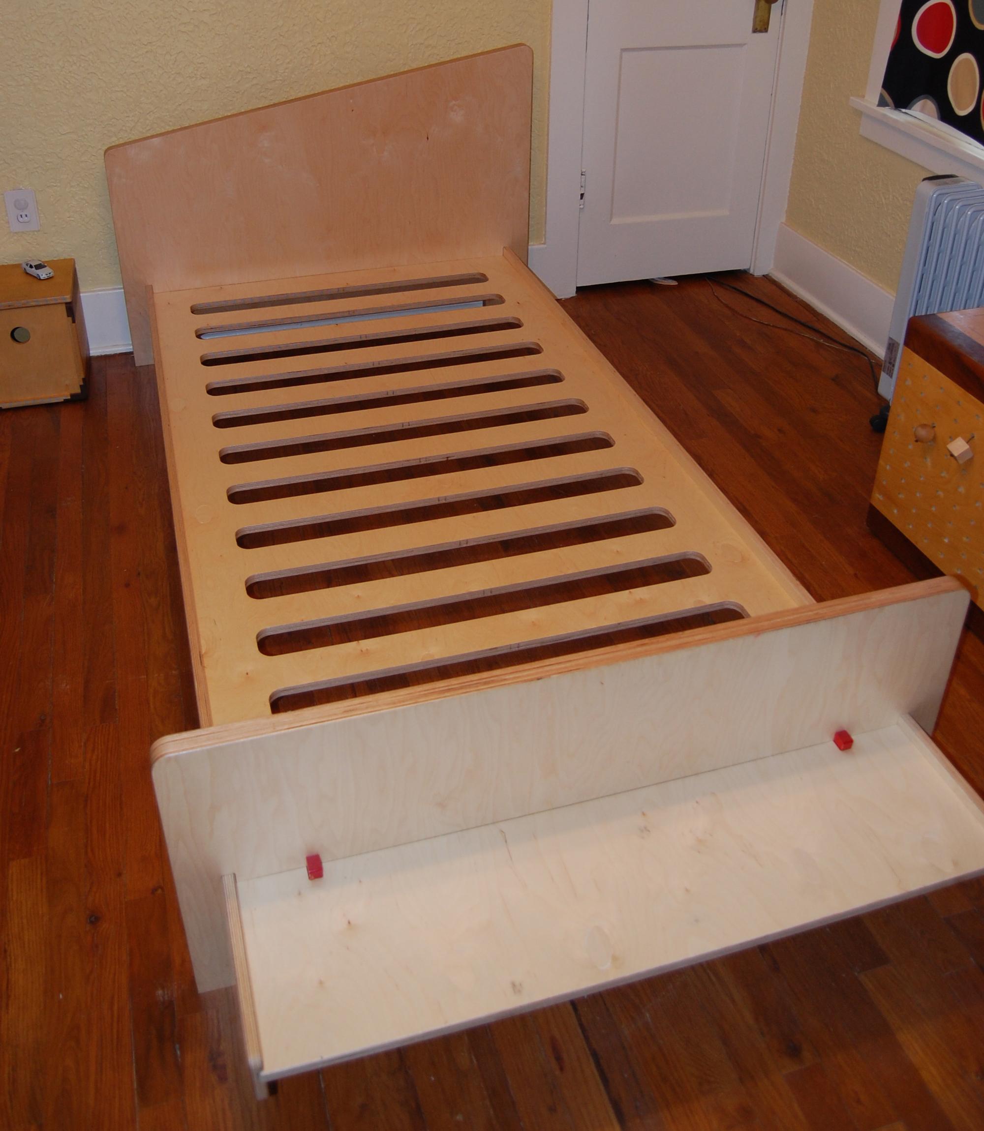 GMO bed frame