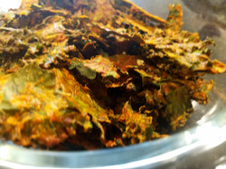 Cheezy Kale Chips!