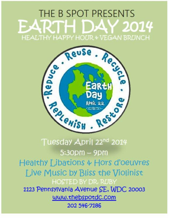 Earth Day Healthy Happy Hour