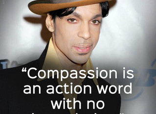 Compassion is an action word...