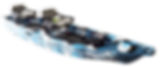 Lure ll-Blue camo-Perspective Front view
