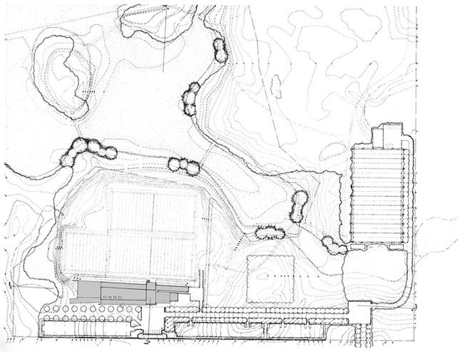 018 Chicago Bears Headquarters Site Plan