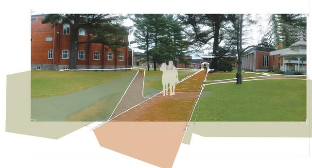 013 Bishop's University Master Plan Path
