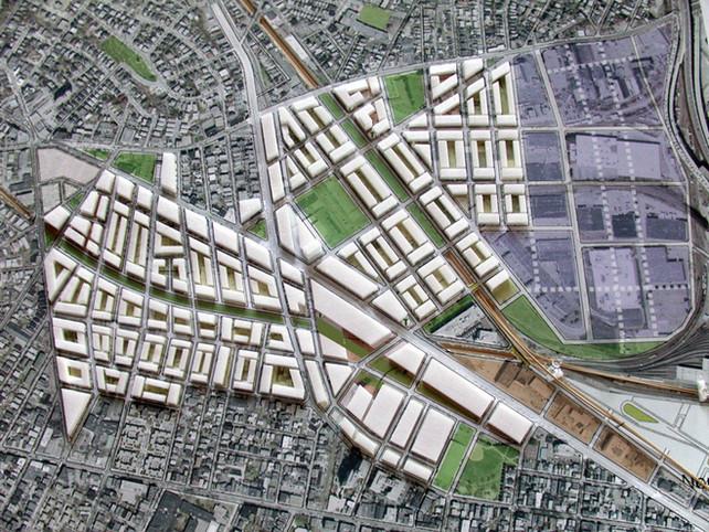011 Somerville Urban Study Aerial Render