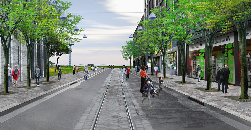 009 Low2No Master Plan Street Rendering.