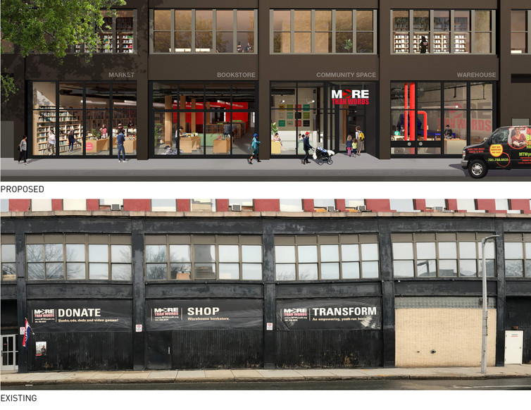 016 More Than Words Renovation Proposed