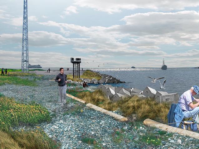 026 Low2No Master Plan Waterfront Render