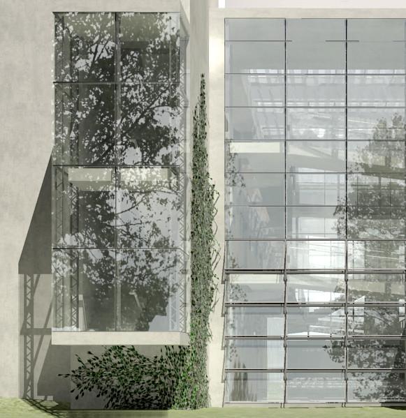 007 Milton Science Center Rendering Faca