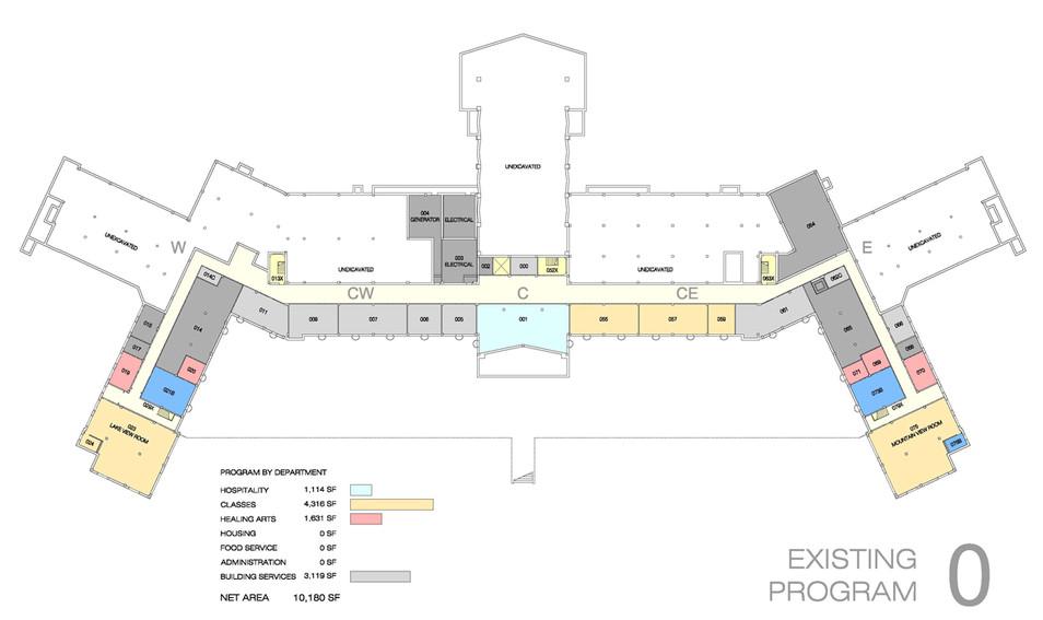 014 Kripalu Master Plan Existing Program