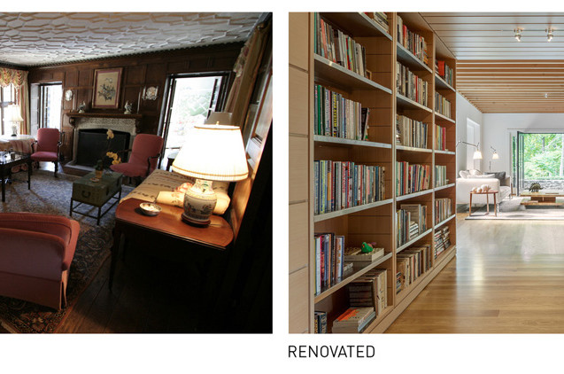 017 Tudor Renovation Existing vs Renovat
