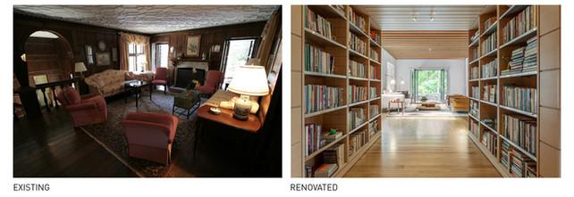 017 Tudor Renovation Existing vs Renovat