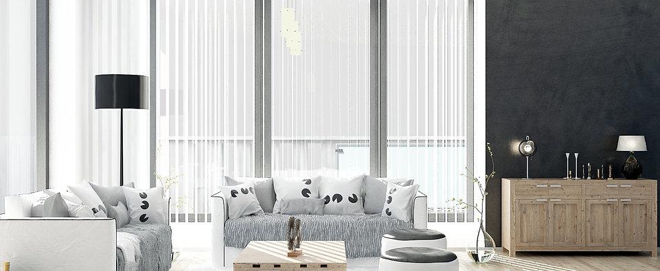 Вертикальные алюминиевые жалюзи Амиго Дизайн