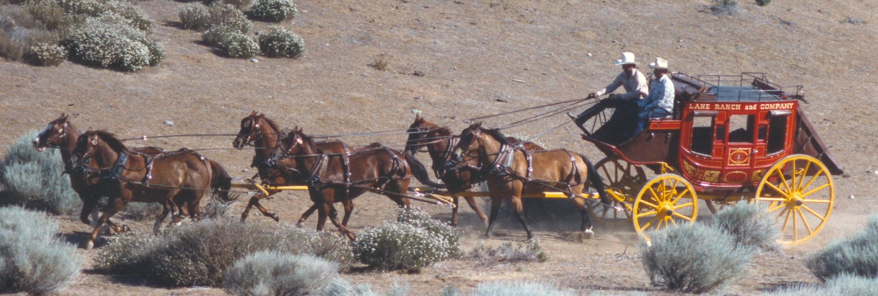 CONCORD STAGECOACH WITH A 6-UP