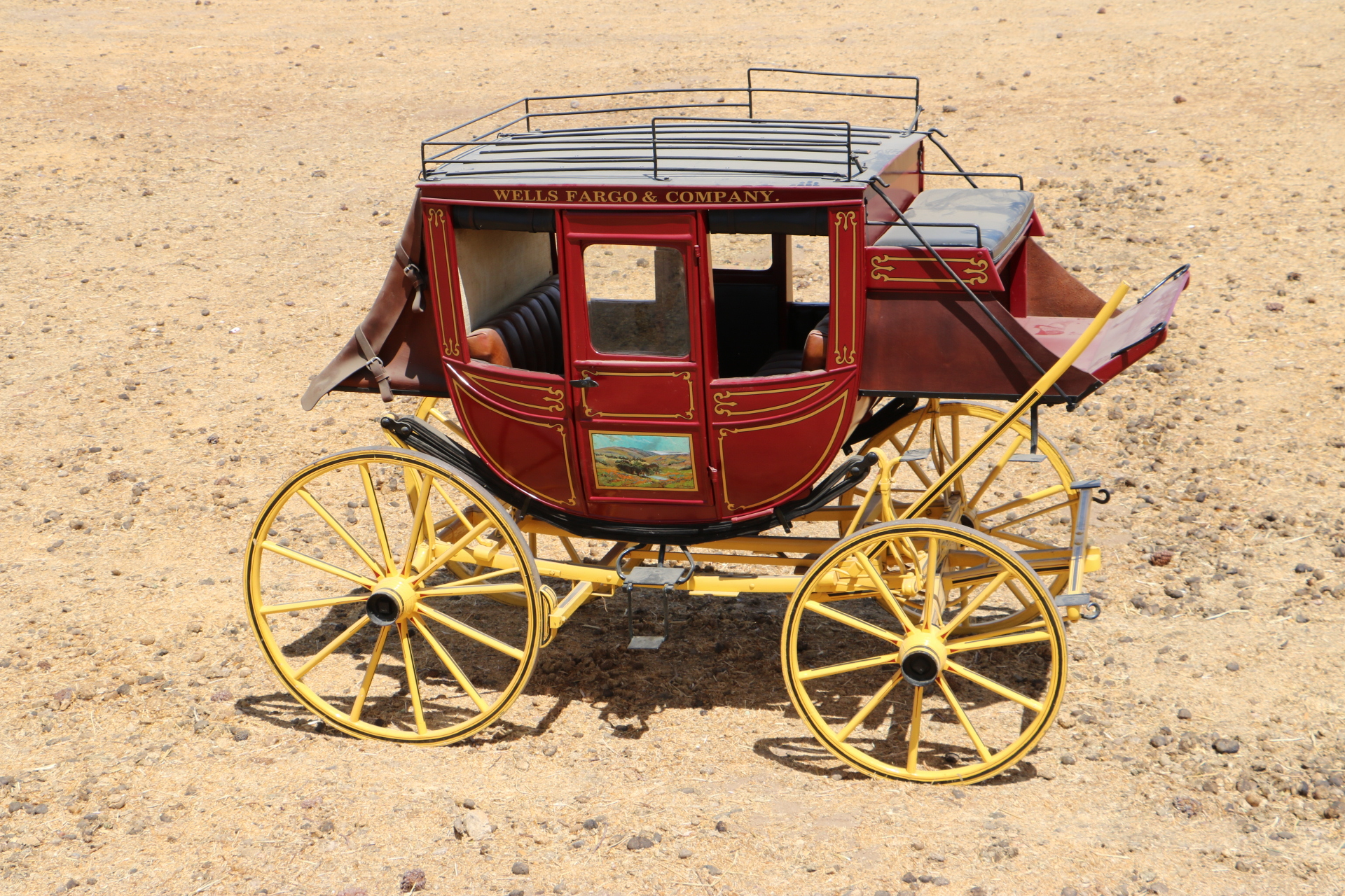 AUTHENTIC STAGECOACH