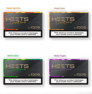 Flavor for iQOS HEETS />/>/> WINTER SALE /</</< Aroma für HEETS 12 Cards Mixed Box