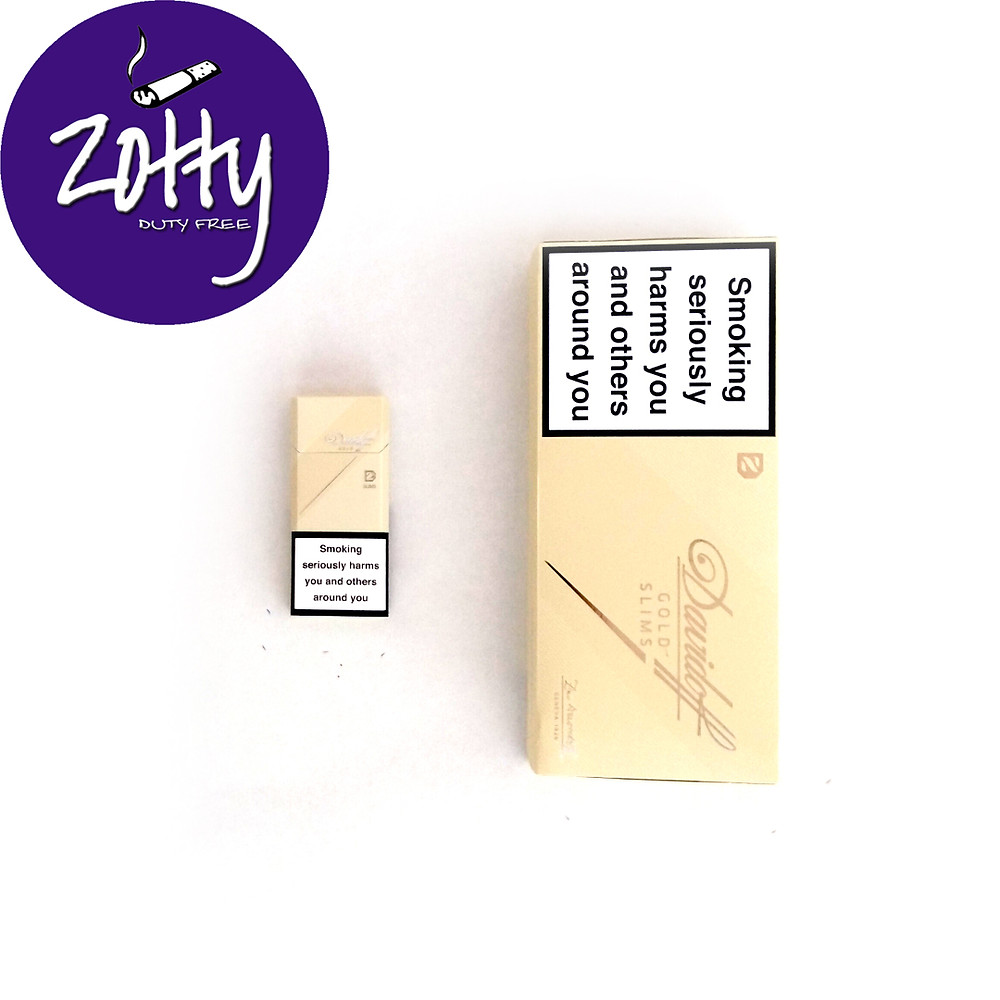 Davidoff Gold Slims Wholesale
