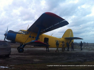 Border guards detained the plane An-2 when trying to smuggle cigarettes into Poland