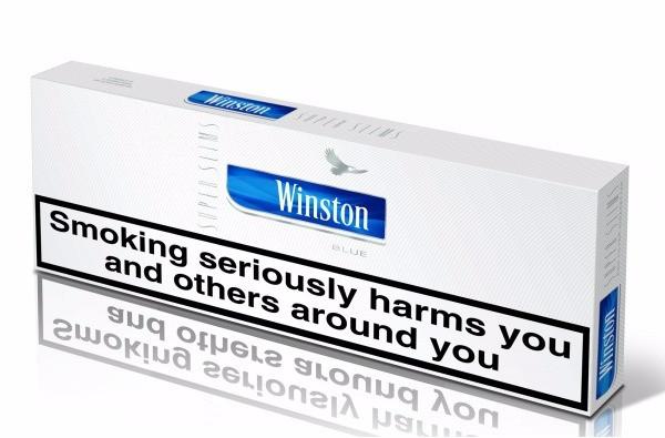 Winston Super Slims Blue