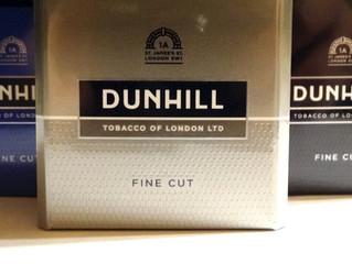 Dunhill Fine Cut Cigarette Test