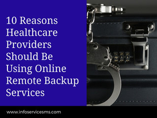 10 Reasons Healthcare Providers Should Be Using Online Remote Backup Services