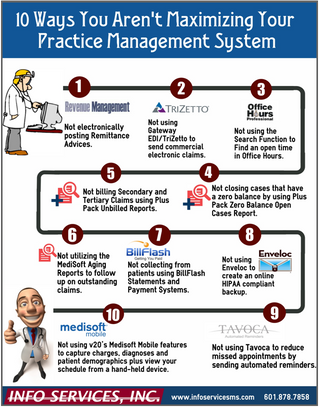 10 Ways You Aren't Maximizing Your Practice Management System