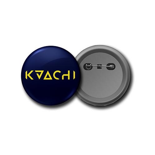 KAACHI Logo Pin Badge