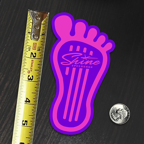 HOT FOOT STICKER PURPLE - C3