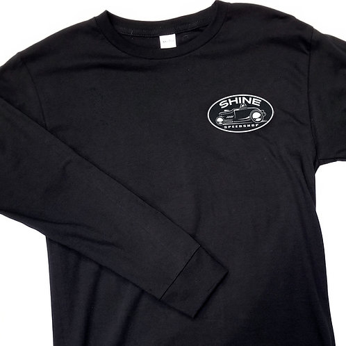 Racer Back Long Sleeve Tee