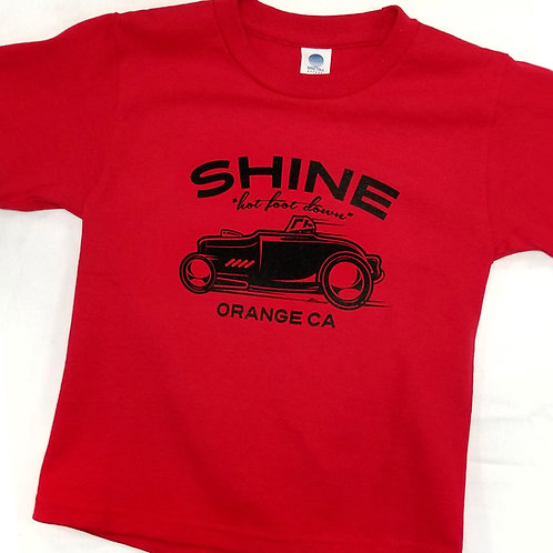 Racer Youth Tee RED