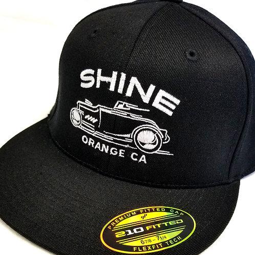 Racer Black Flexfit Hat