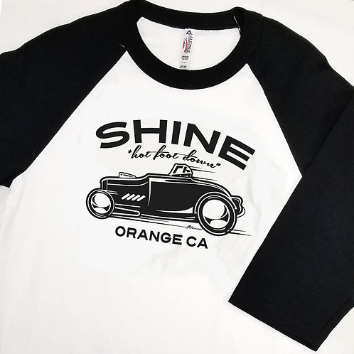 SHINE RACER Baseball T-Shirt