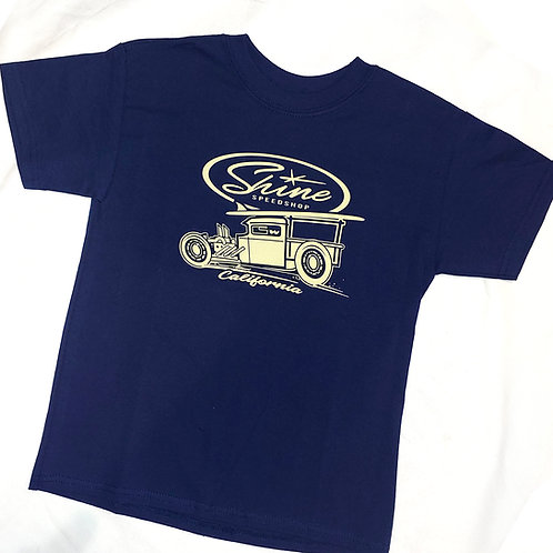SURF truck Youth T-shirt navy