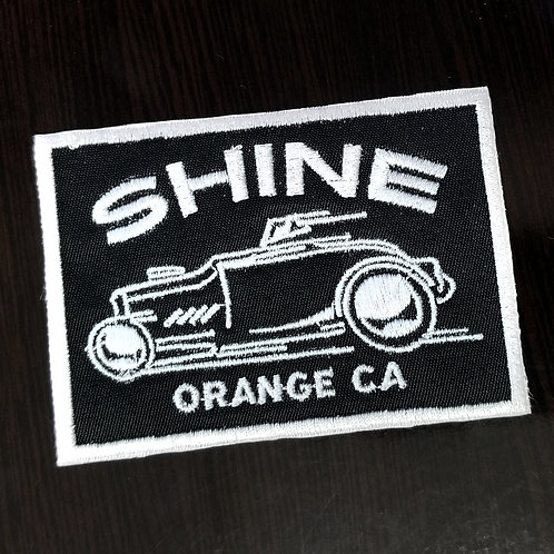 Racer square patch
