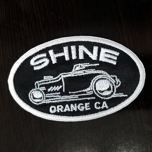 Racer oval patch