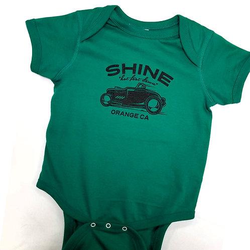 Green Racer Onesie