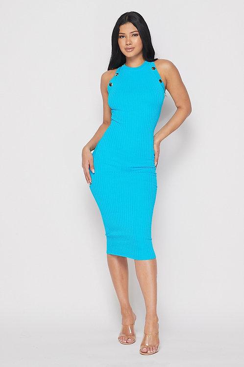 Ocean Drive Midi Dress