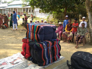 Winter Blankets Distribution 2016-17 (1): Sherpur