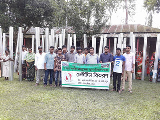 MMJ Foundation Aid 70 Families in Rangpur for Post -Flood Rehabilitation Process