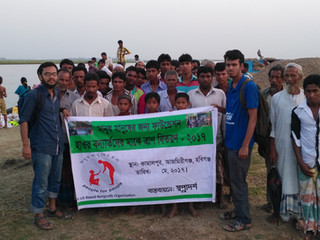 MMJ Foundation Distributed Relief to over 50 Families in Habiganj
