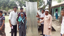 Post-Flood Rehabilitation Aid 2017 - 1: Sariakandi, Bogra (1.5 Lac Taka)