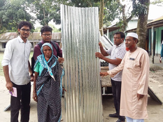 Post-Flood Rehabilitation Aid 2017 - 1: Sariakandi, Bogra (1.5 Lac Taka)