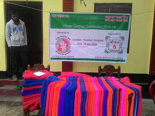 Winter Blankets Distribution 2015-16 (3): Kurigram
