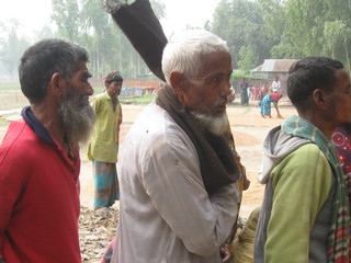 Winter Blanket Distribution 2013 - Kurigram