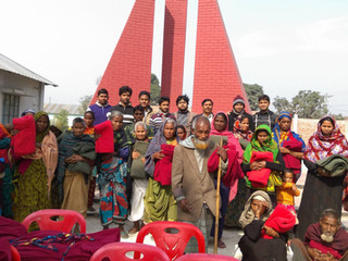 Winter Blankets Distribution 2015-16 (2): Rangpur