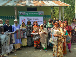 Winter Blankets Distribution 2016-17(3): Thakurgaon and Panchagarh