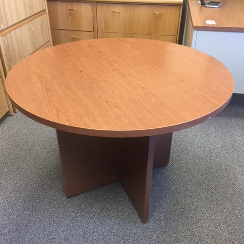 SKPattony Ogden Emporium Shabby Chic Used Office Furniture - Hon 42 round conference table