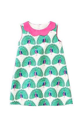 vestido pavo real