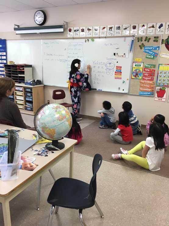 カナダの小学校でボランティア体験談