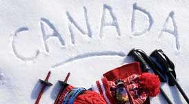 カナダのスキー